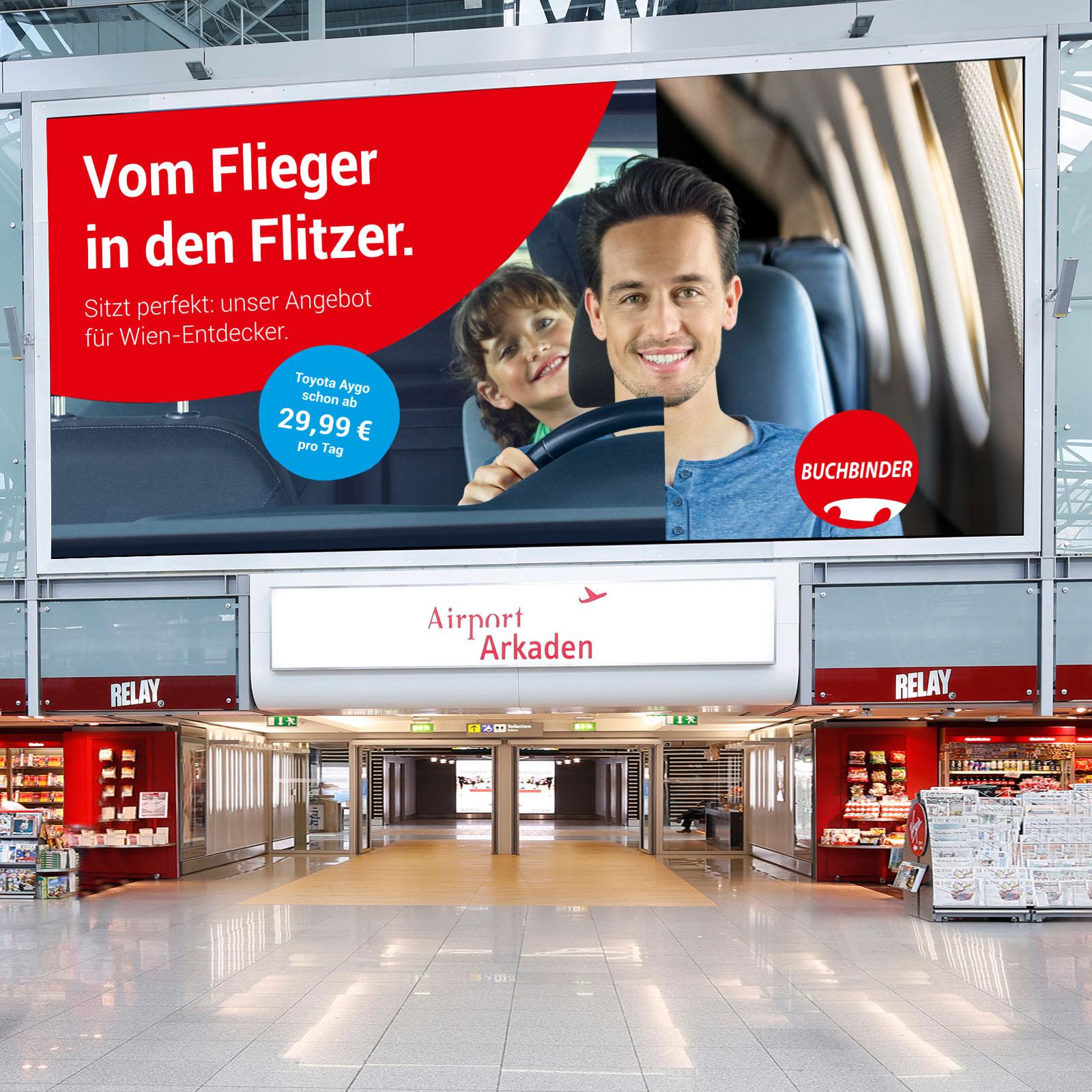 Studio-51|Buchbinder|Großformat|Großformatwerbung|Werbung|Flughafenwerbung|Flughafen|Plakat|Plakatwerbung|50MioPixel|50MillionenPixel|Transporter|Design|Fotografie